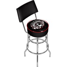 "Fender 31"" Spirit of Rock and Roll Swivel Bar Stool"