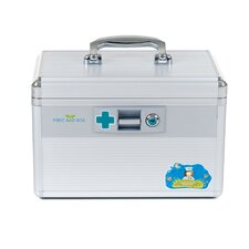 Aluminum Medical Travel First Aid Case