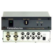 1 x 3 Distribution Amplifier for Audio and Video DA with BNC's
