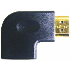 HDMI Female to Right Angle Male - Left Elbow Adapter