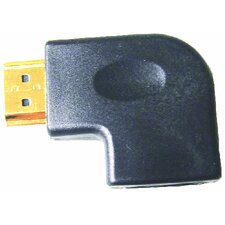 HDMI Female to Right Angle Male - Right Elbow Adapter