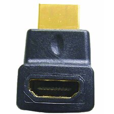 HDMI Female to Right Angle Male - Upward Position Adapter