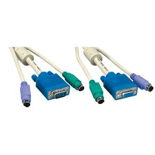"300"" KVM HD15M/F and MD6M and MD6M Cable"