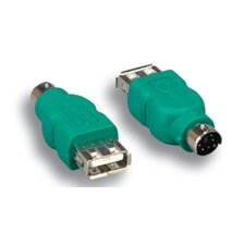 USB to Mouse Adapter A Female/Mini DIN