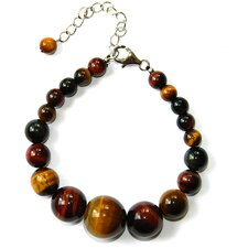 Journey Tiger's Eye Beaded Bracelet