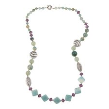 Fashion Amazonite Beaded Necklace