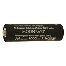 1000 Mah Rechargeable NiMh AA Batteries (Pack of 4)