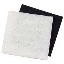 Large Carbon and Coarse Pad Replacement Filter (Set of 2)