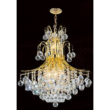 <strong>Worldwide Lighting</strong> Empire 11 Light Chandelier