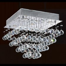 Icicle 5 Light Flush Mount