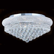 Empire 12 Light Flush Mount