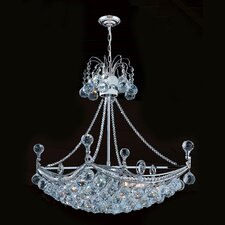 Empire 6 Light Crystal Chandelier