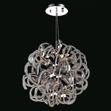 Medusa 9 Light Crystal Chandelier