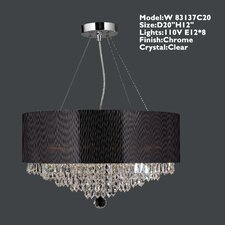 Gastby 8 Light Crystal Chandelier