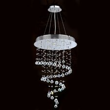 Helix 10 Light Crystal Chandelier
