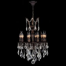 Versailles 10 Light Crystal Chandelier
