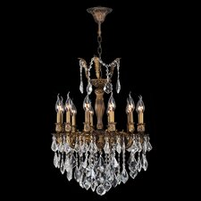 <strong>Worldwide Lighting</strong> Versailles 12 Light Crystal Chandelier