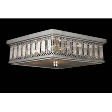 Athens 6 Light Flush Mount