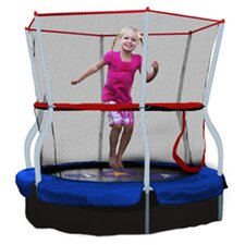 "Seaside Adventure Bouncer 60"" Trampoline with Enclosure"