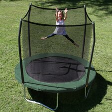 8' Round Trampoline with Safety Enclosure