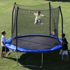 10' Round Trampoline with Safety Enclosure