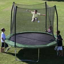 <strong>Skywalker Trampolines</strong> 10' Round Trampoline with Safety Enclosure