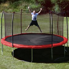 <strong>Skywalker Trampolines</strong> 15' Round Trampoline with Safety Enclosure