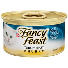 Chunky Turkey Feast Wet Cat Food (3-oz can, case of 24)