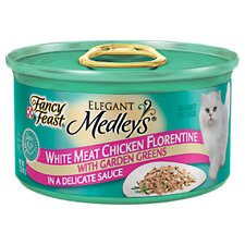 Elegant Medley Chicken Case Florentine Cat Food (Case of 24)