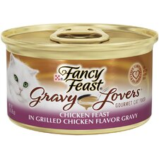 Gravy Lovers Chicken Cat Wet Cat Food (3-oz can,case of 24)