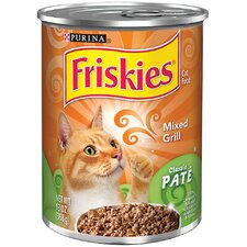 Classic Pate Mixed Grill Cat Foods