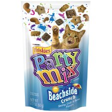 Crunchy Party Mix Pouch Cat Treats