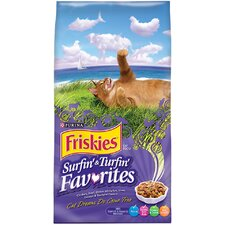 <strong>Friskies</strong> Surfin' and Turfin' Favorites Dry Cat Food (16-lb bag)