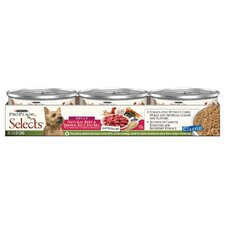 Selects Natural Beef and Brown Rice Entrée Wet Dog Food (5.5-oz, case of 24)