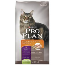 Adult Chicken and Rice Formula Cat Food (16-lb bag)