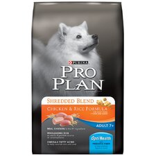 Senior 7+ Shredded Blend Chicken and Rice Dry Dog Food