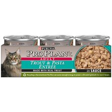 Trout and Pasta Entrée Cat Food in Sauce (3-oz, case of 24)