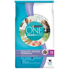 Smartblend Healthy Kitten Formula Growth / Development Dry Cat Food (16-lb bag)