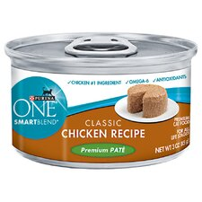 Smartblend Premium Pate Classic Chicken Wet Cat Food (3-oz, case of 24)