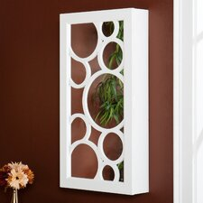 Juliann Wall Mount Jewellery Mirror