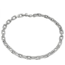 Knife-Edge Chain Necklace