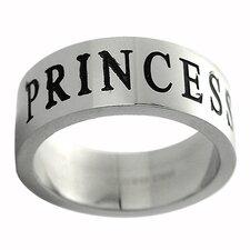 """""""Princess"""" Band Ring"""