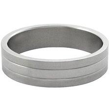 3-Ribbed Band Ring