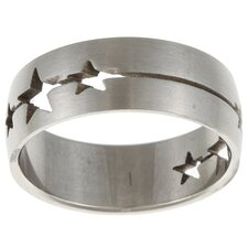 Star Cut-out Band Ring