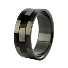 Geometric Design Band Ring