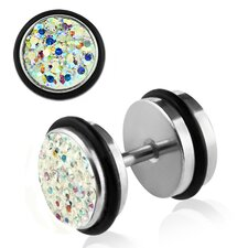Multi Crystal Front Illusion Plug (Set of 2)