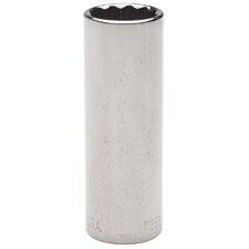 "1/4"" Drive 6 Point 4mm Deep Socket"