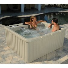 Cyprus Spa with Optional Storage Steps
