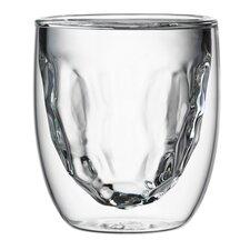 Elements 2 Piece Crystalized Glass Set