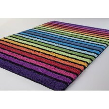 Colour Stripes Bath Rug